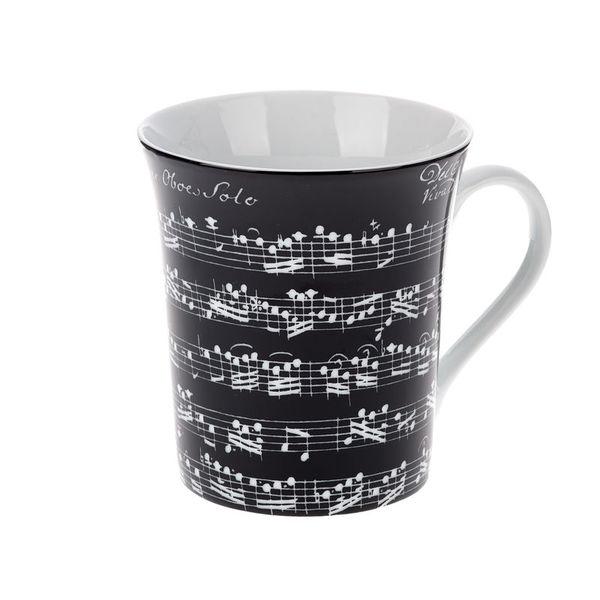 Musikboutique Hahn Jumbo Mug Vivaldi Sonata Black