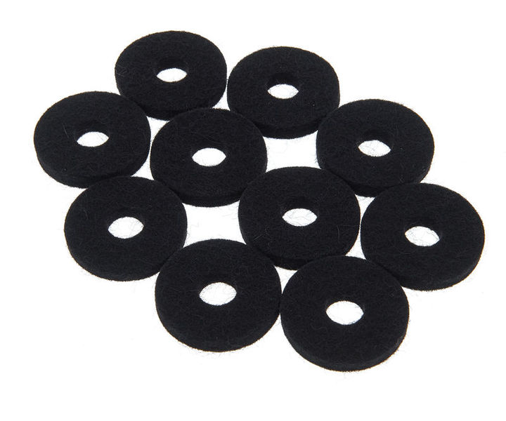 Colour Your Drum Cymbal Felts Black