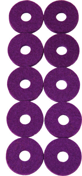 Colour Your Drum Cymbal Felts Purple