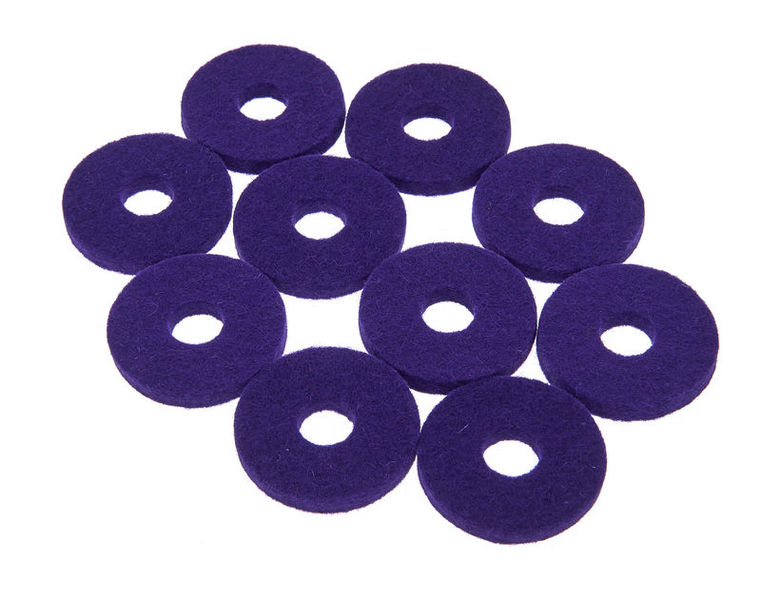 Colour Your Drum Cymbal Felts Purple