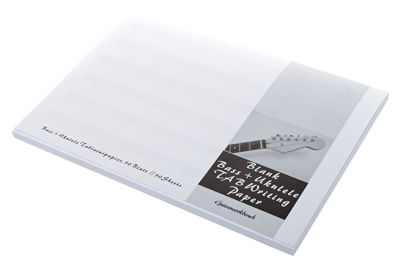 Quercus Notation Writing Notepad Bass