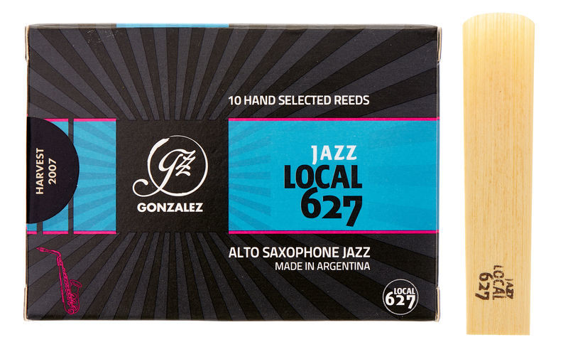 Gonzalez Alto Sax Reed Local 627 4