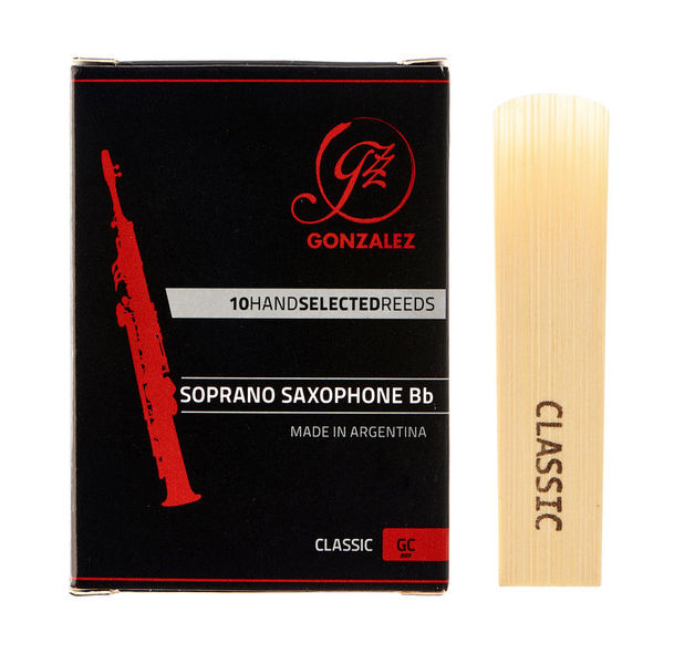 Gonzalez Soprano Sax Reed Classic 2,5