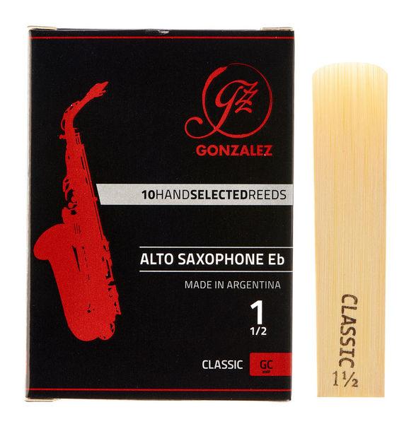 Gonzalez Alto Sax Reed Classic 1,5