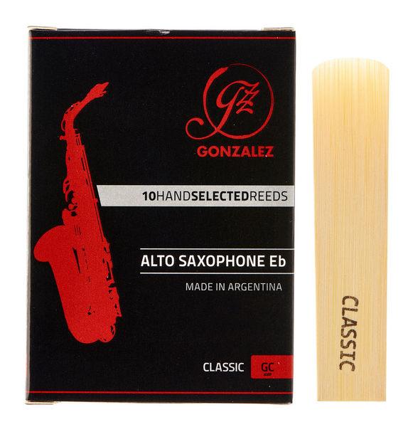 Gonzalez Alto Sax Reed Classic 4