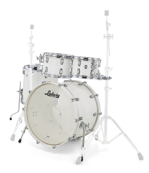 Ludwig Keystone X Big Beat Arctic Oak