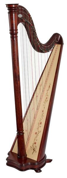 Salvi Ana Lever Harp 40 Str. WN