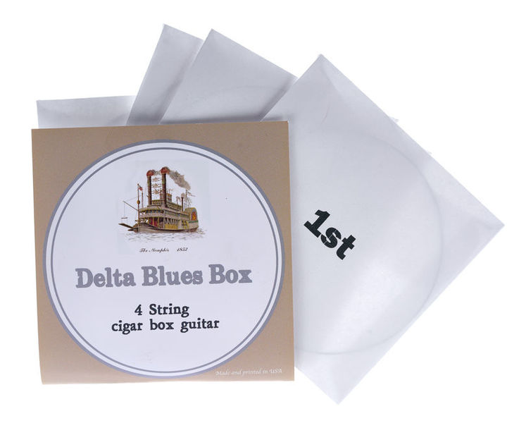 St.Blues Cigar Box String Set