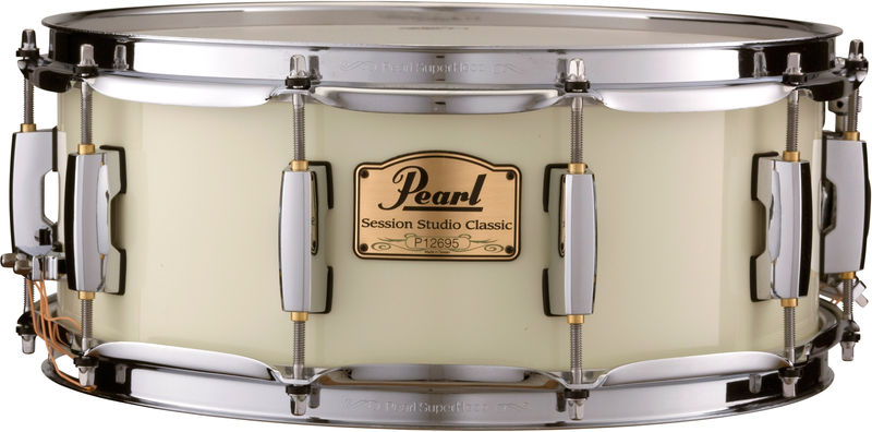"Pearl SSC 14""x5,5"" Snare Ivory"