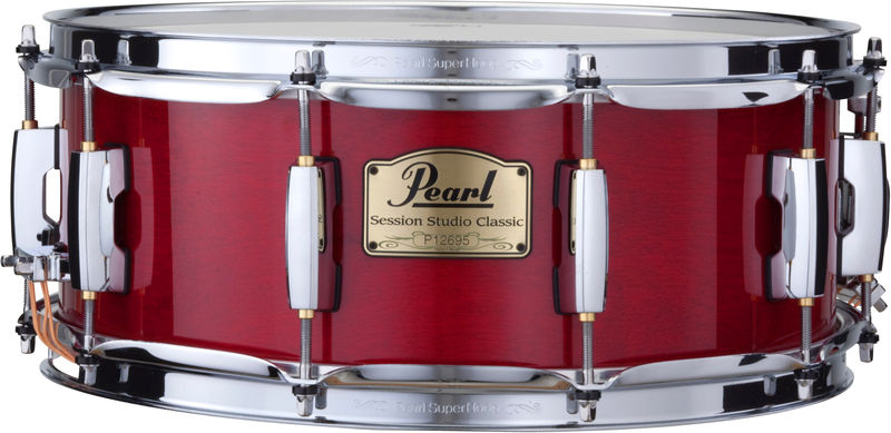 "Pearl SSC 14""x5,5"" Snare Red"