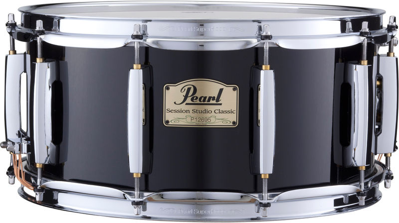 "Pearl SSC 14""x6,5"" Snare Black"
