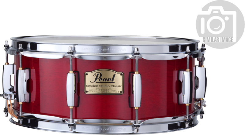 "Pearl SSC 14""x6,5"" Snare Red"