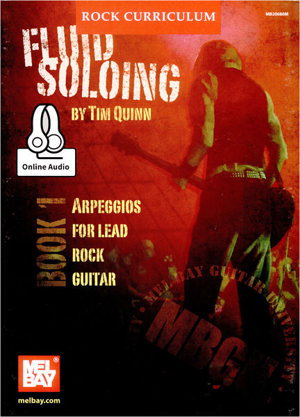 Mel Bay Fluid Soloing by Tim Quinn