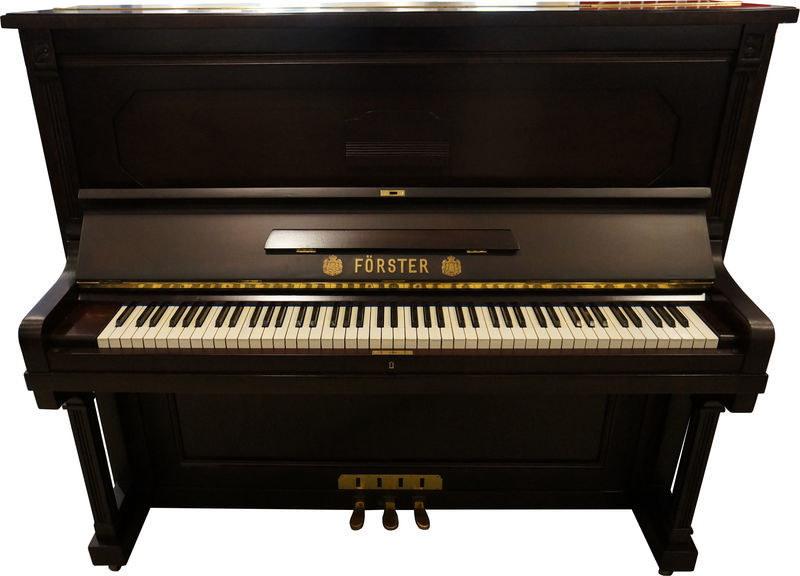 August Förster Piano, Used, Walnut