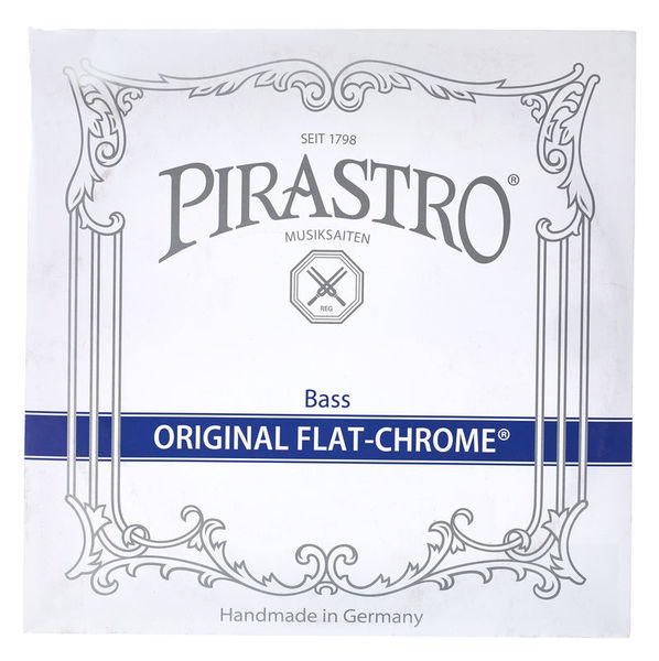 Pirastro Original Flat-Chrome G Bass