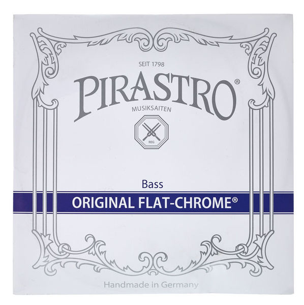 Pirastro Original Flat-Chrome D Bass