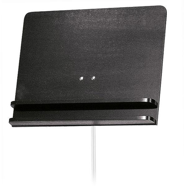 K&M 118/3 Desk Only Wood Black