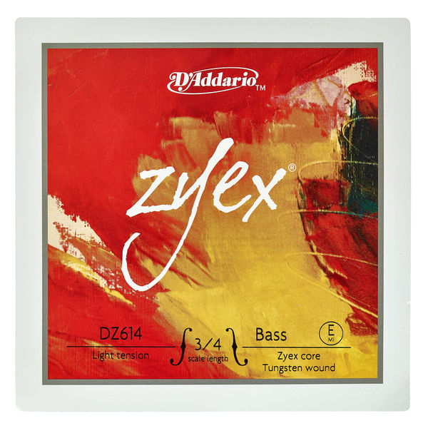 Daddario DZ614-3/4L Zyex Bass E light