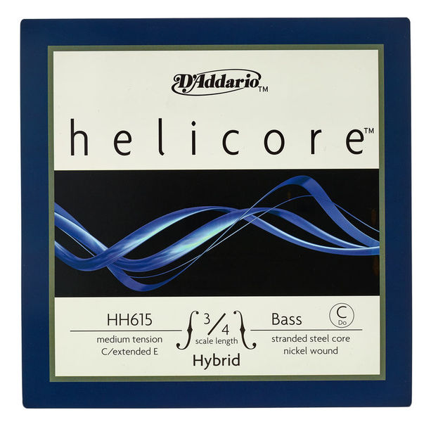 Daddario HH615-3/4M Helicore Bass C Ext