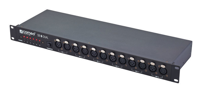 Cameo SB 6 Dual DMX Splitter/Booster