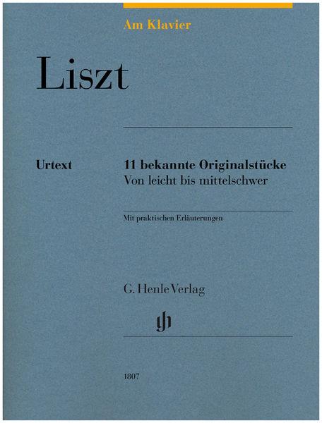 Henle Verlag Am Klavier Liszt
