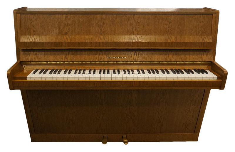 Seiler Piano, used, rustic oak