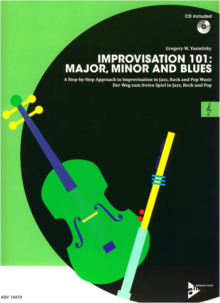 Advance Music Improvisation 101 Treble Clef