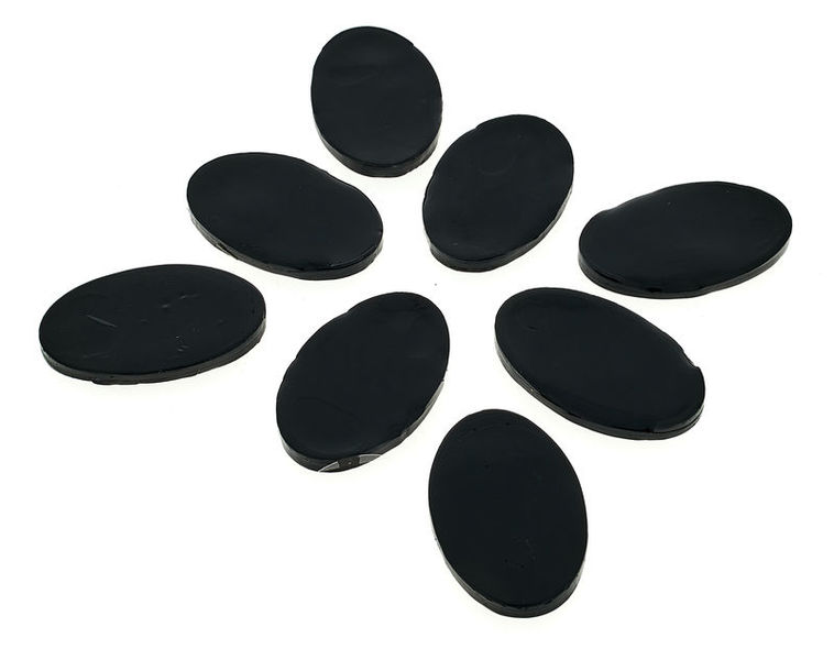 SkyGel Gel Damper Pads black