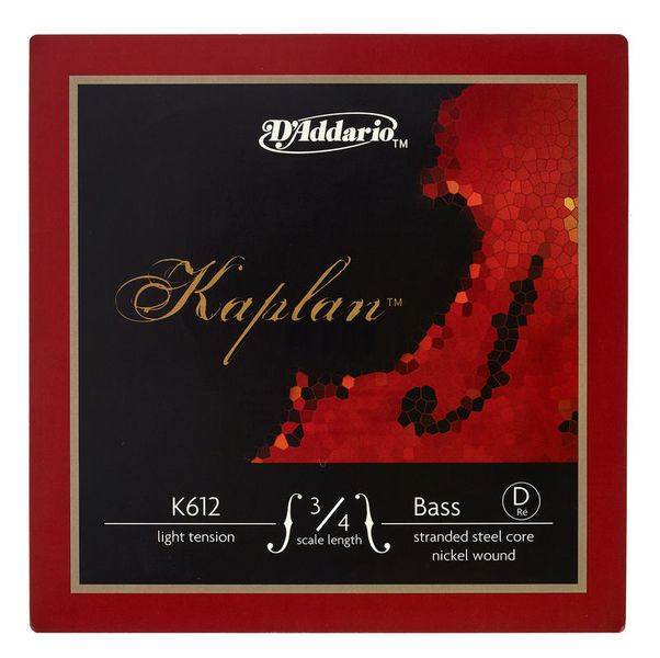 Daddario K612-3/4L Kaplan Bass D light