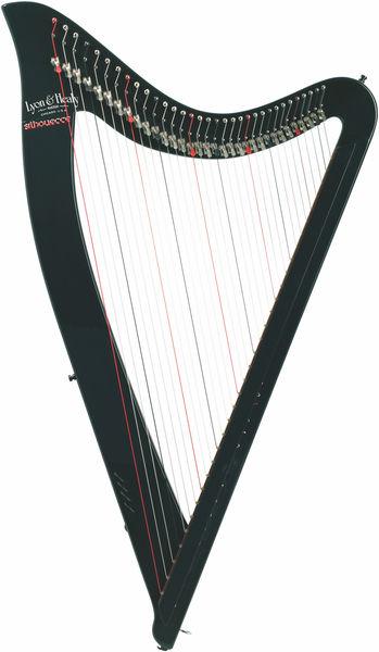 Lyon & Healy Silhouette Electric Harp JB