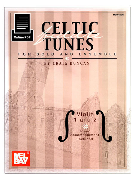 Mel Bay Celtic Fiddle Tunes f.Solo