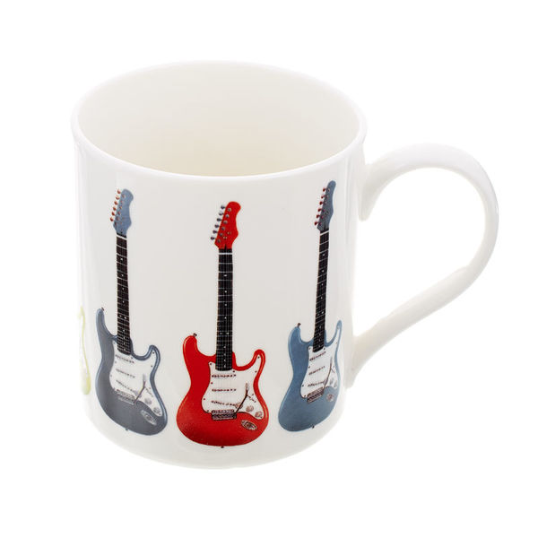 Music Sales Mug with E - Guitar