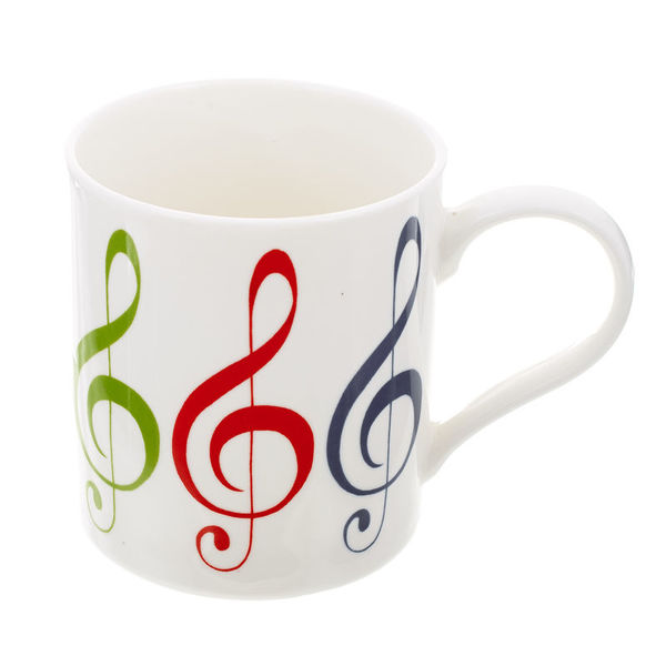 Music Sales Mug with G-Clef