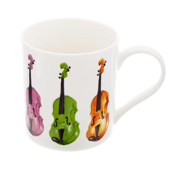 Music Sales Mug with Violin