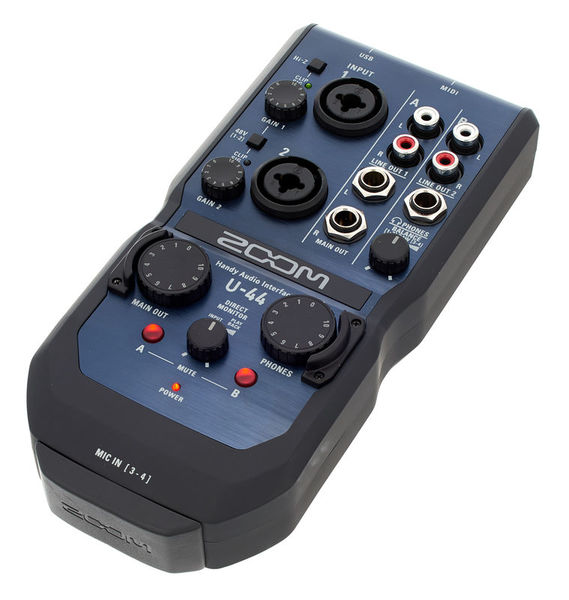 Drivers for Zoom U-44 Audio Interface
