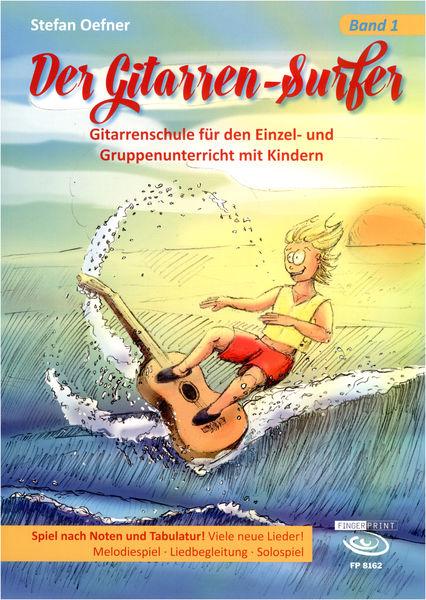 Fingerprint Der Gitarren-Surfer