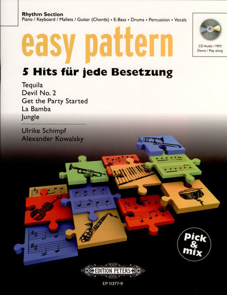 C.F. Peters Easy Pattern 5 Hits Rhythm