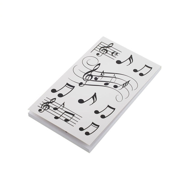 Music Sales Pocket Notepad - Notes