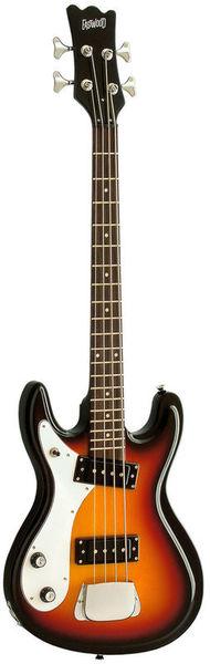 Eastwood Guitars Hi-Flyer Bass Sunburst LH