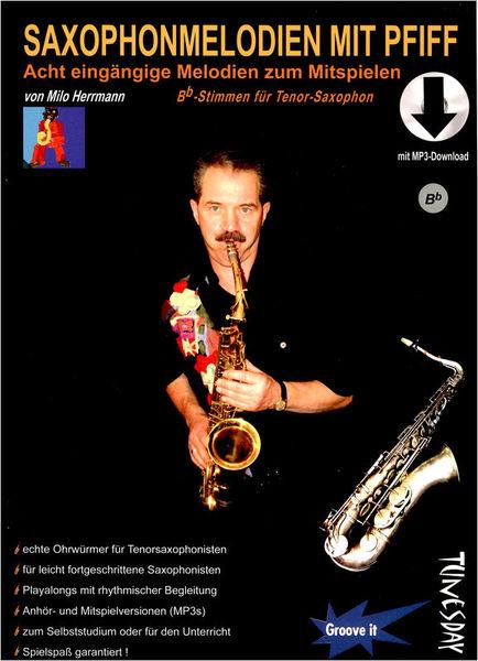 Tunesday Records Saxophonmelodien mit Pfiff Bb