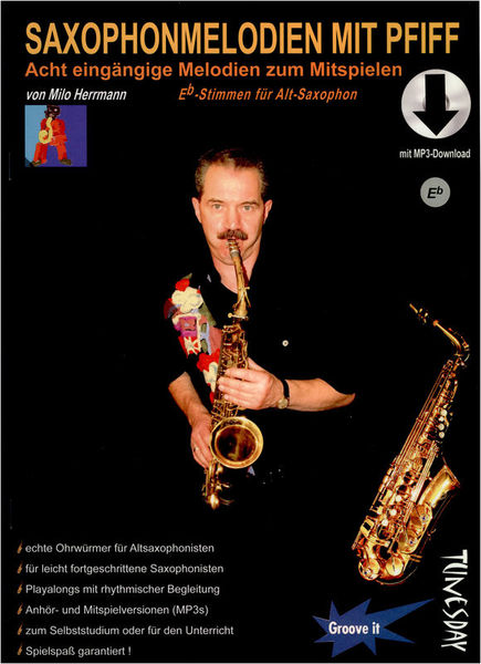 Tunesday Records Saxophonmelodien mit Pfiff Eb