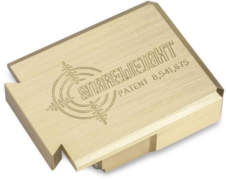 Snareweight #4 magn. Overtonedamper Brass