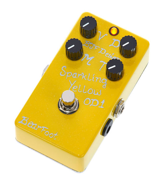Bearfoot Sparkling Yellow Overdrive #1