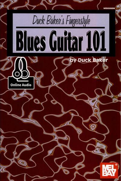 Mel Bay Fingerstyle Blues Guitar 101