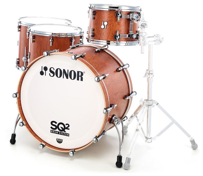 Sonor SQ2 Shell Set Rock Bubinga