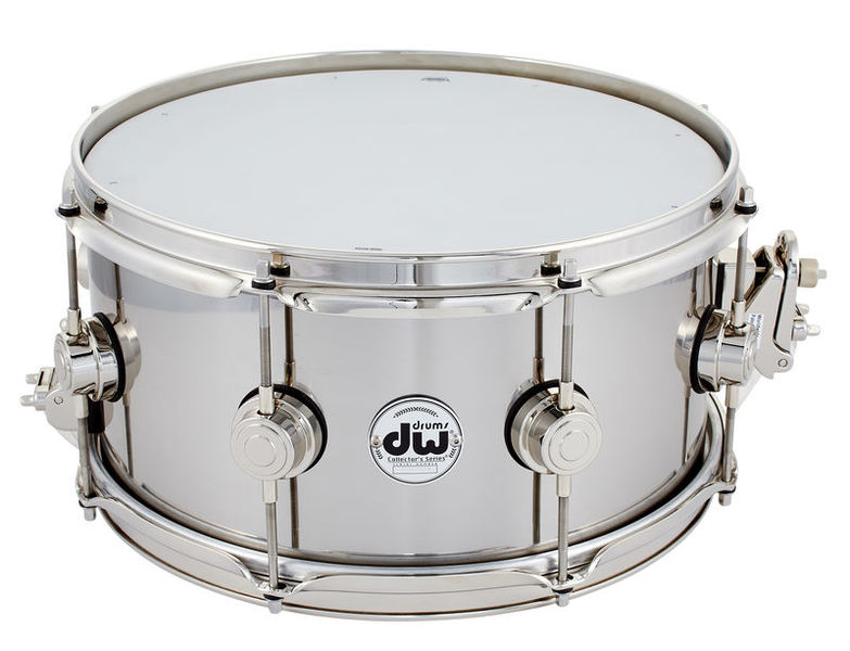 "DW 13""x6,5"" Stainless Steel Snare"