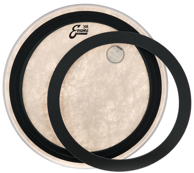"""Evans 20/"""" EMAD Calftone Bass Drum Head BD20EMADCT"""