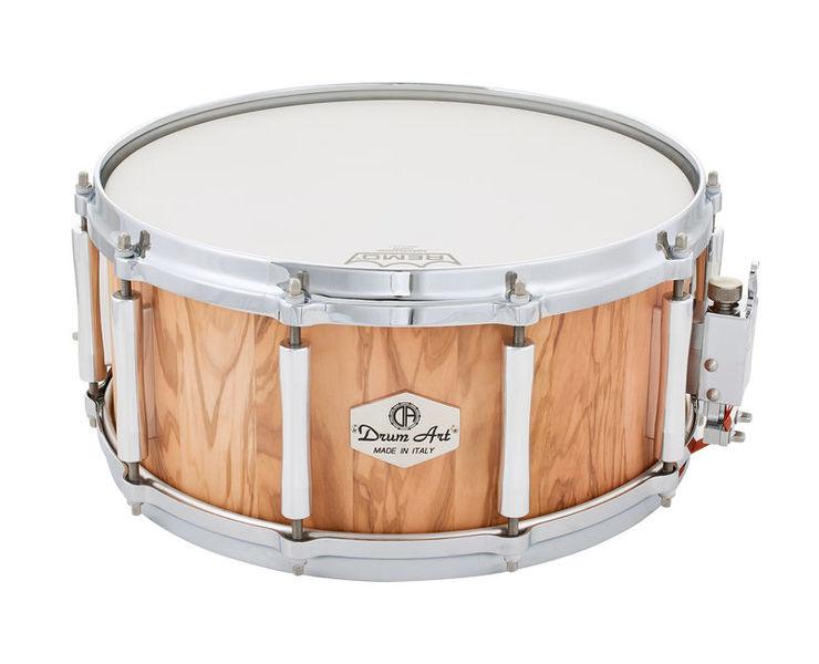 """Drum Art 14""""x6,5"""" Olive Snare Drum"""