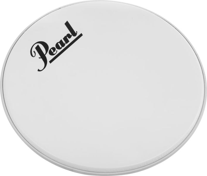 "Pearl 18"" Bass Drum Front Head White"