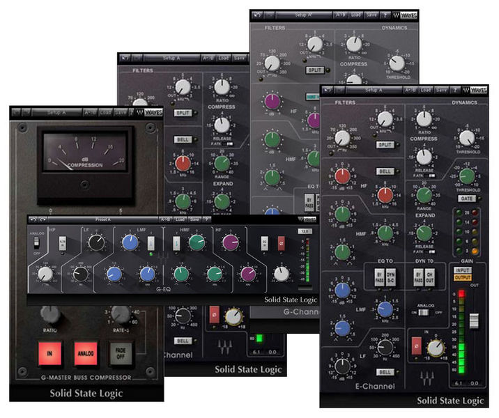 SSL 4000 Collection Waves